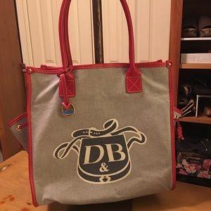 Dooney & Bourke Donegal Crest Tote Bag Purse